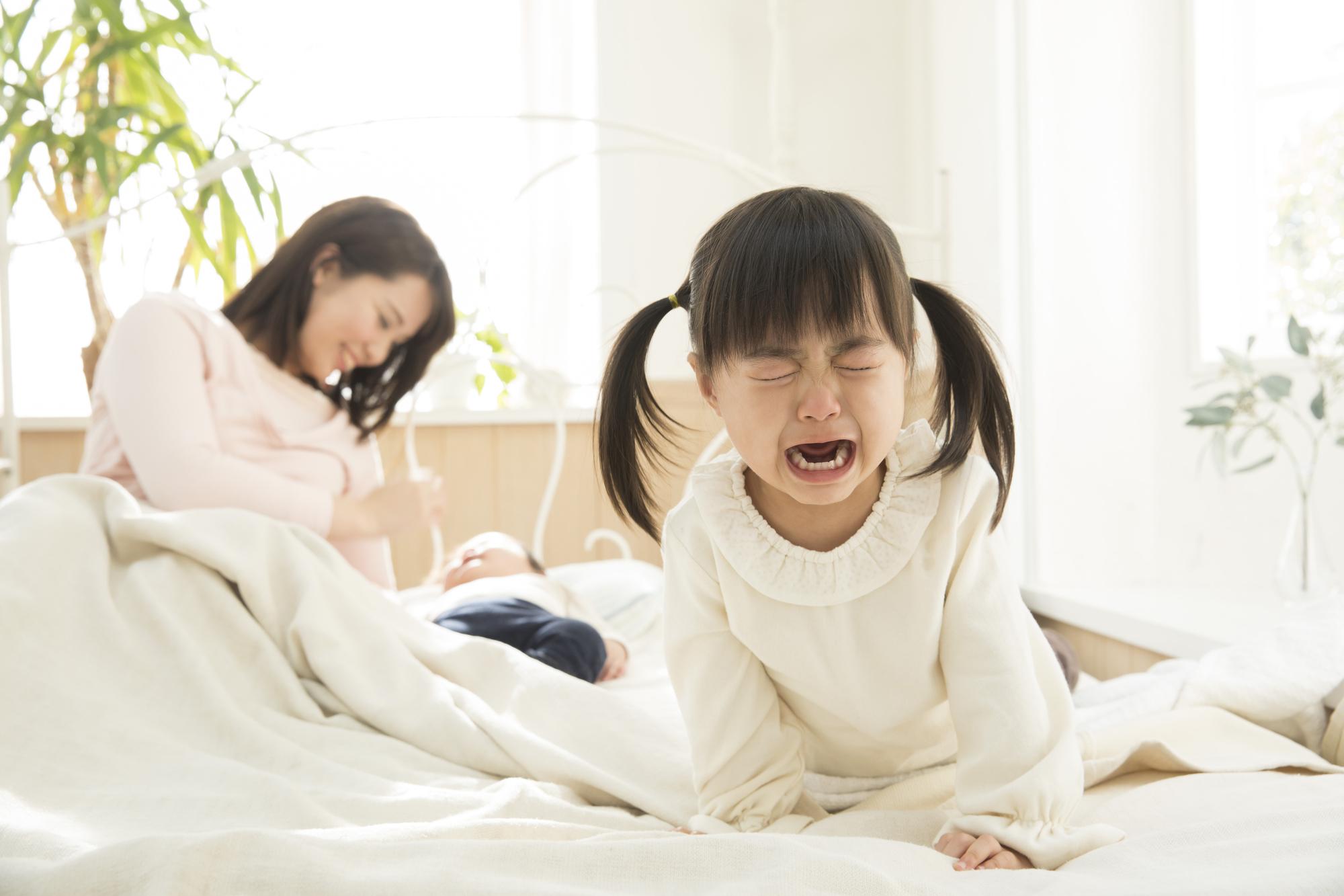 上の子にイライラ!可愛くない症候群はいつまで?妊娠・産後ママの対処法