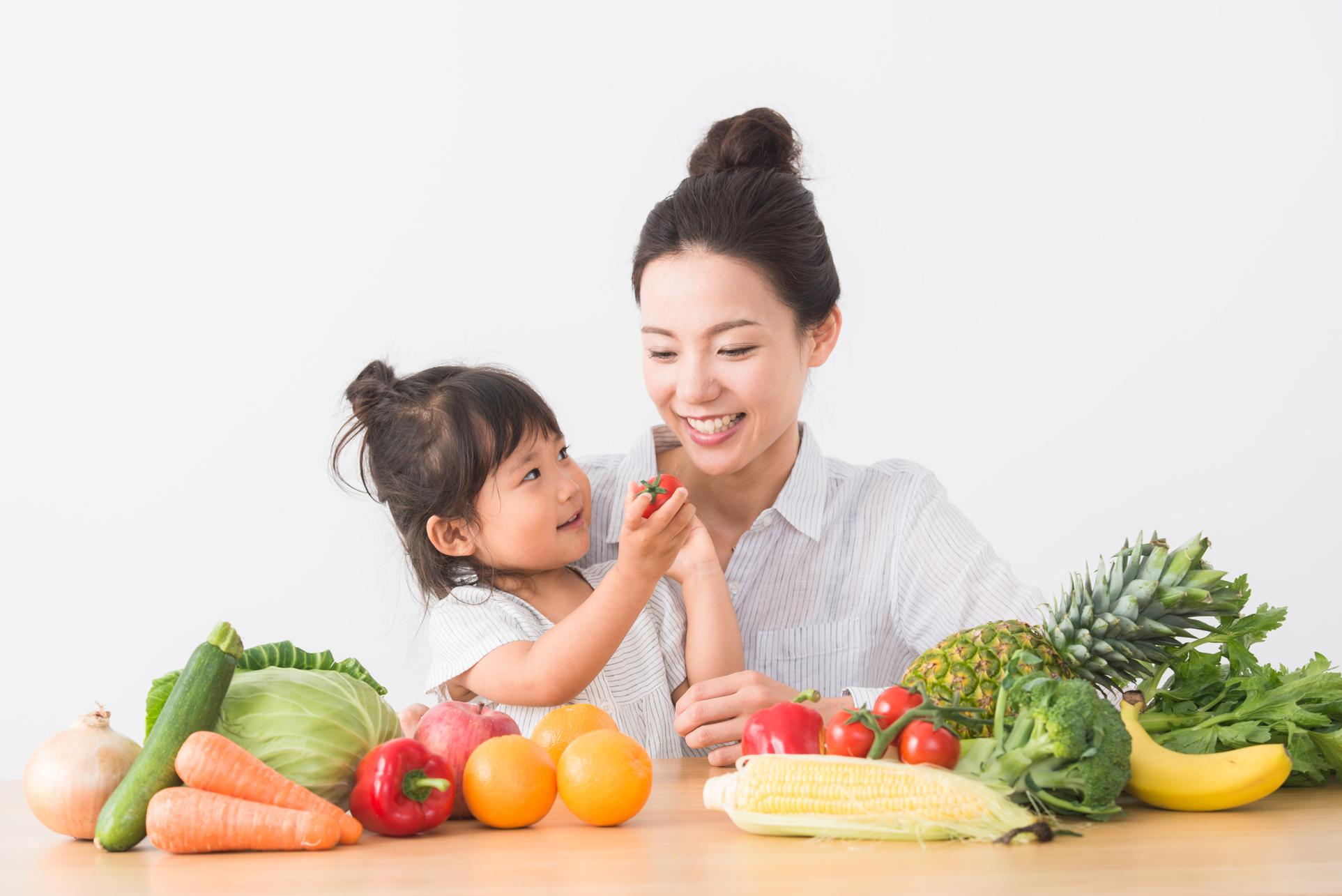 野菜と子ども