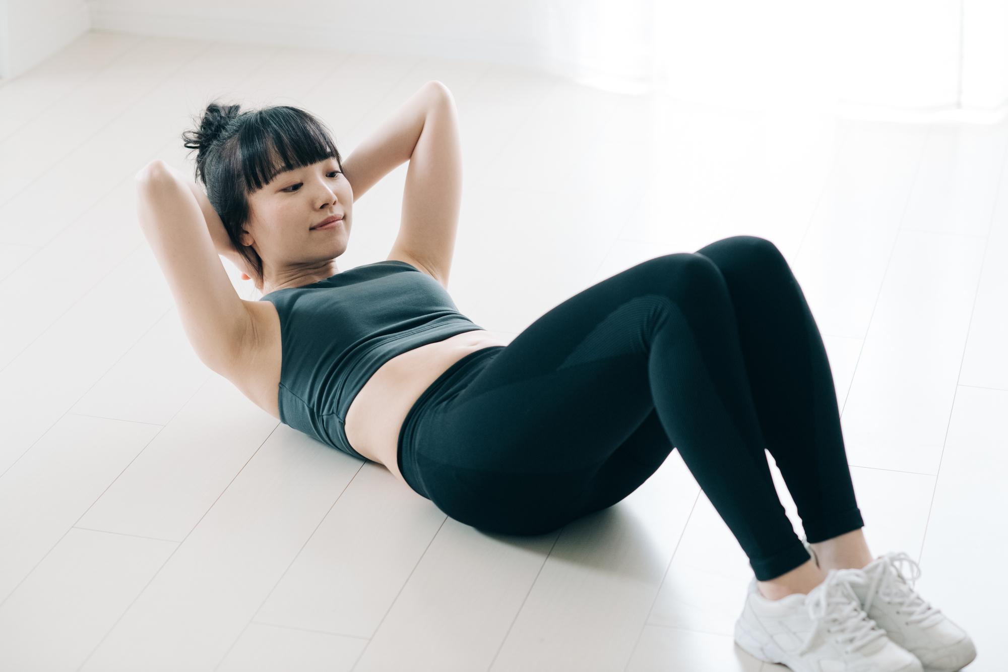 産後の腹筋