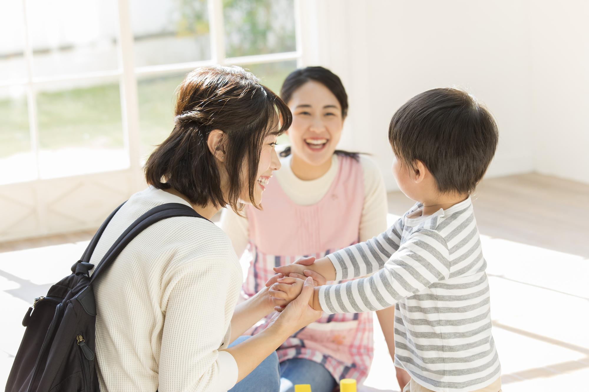 親子と保育師