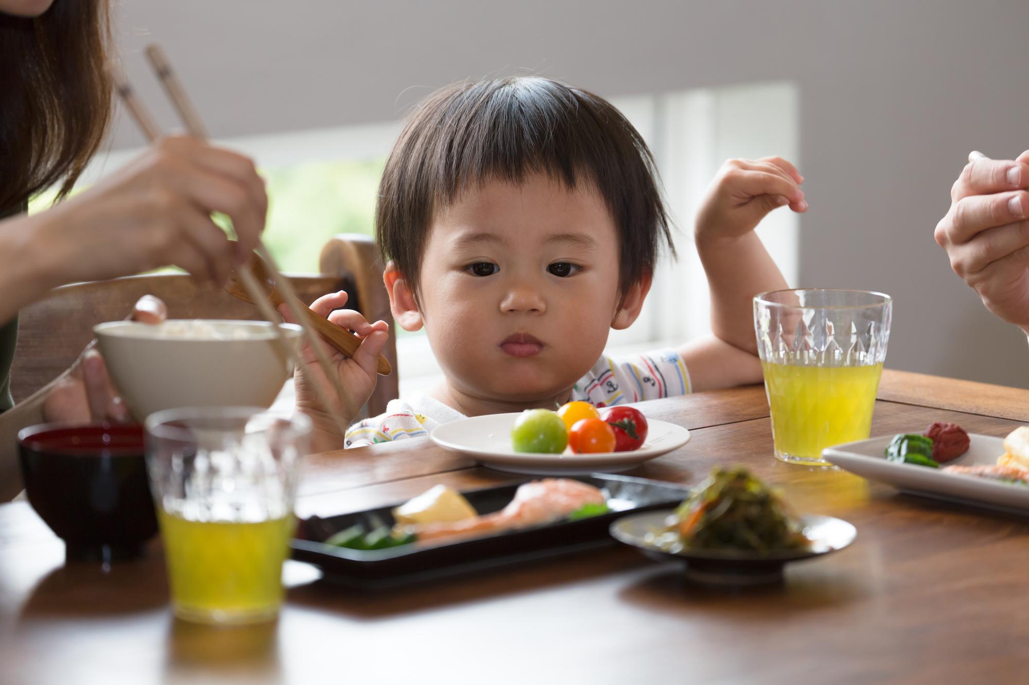 親とお昼ご飯