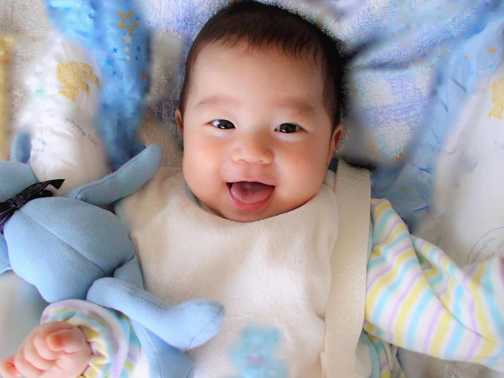 赤ちゃんかわいい仕草