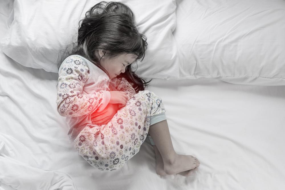 子供の下痢と胃の痛みを取り除く方法