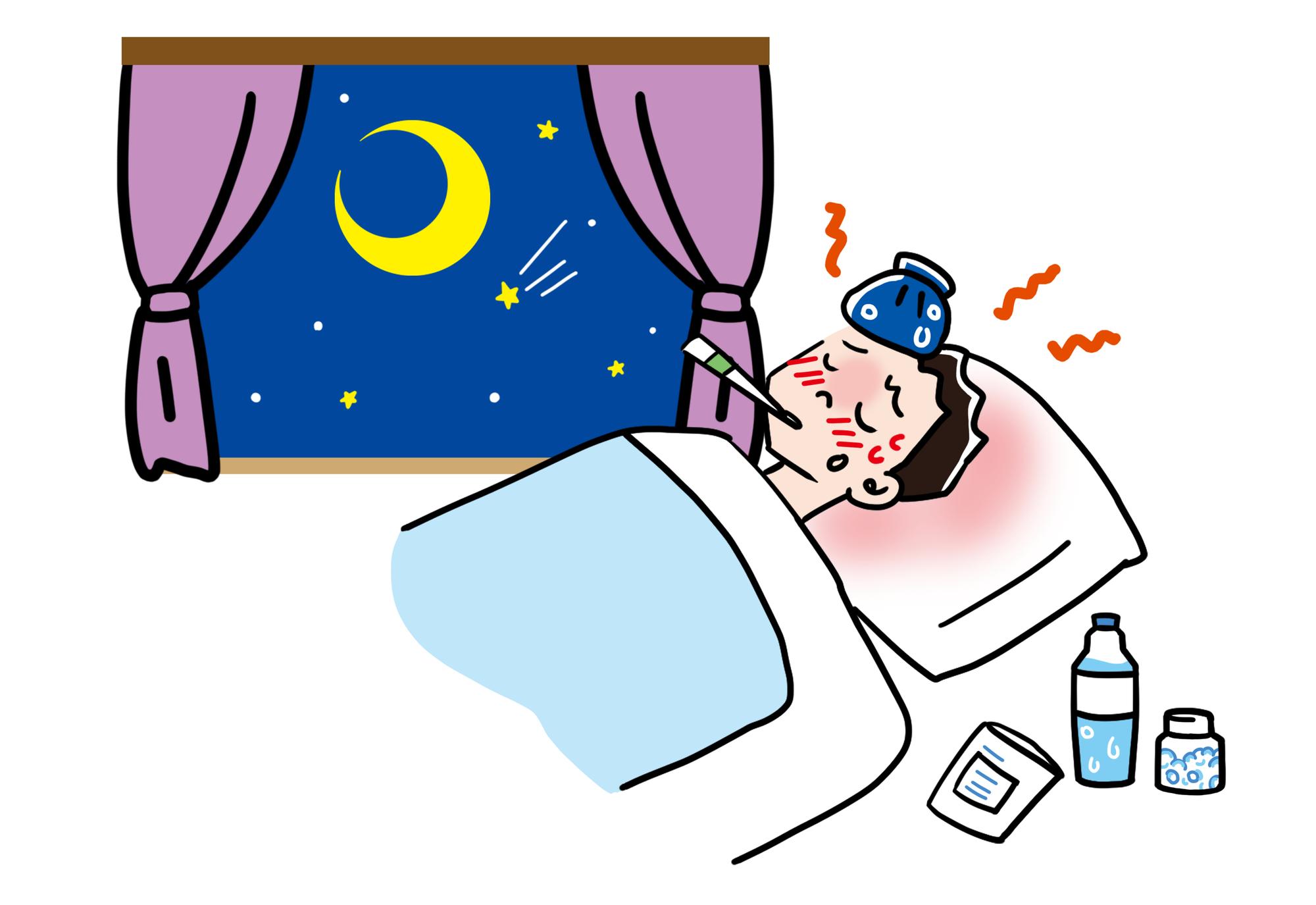 なると が 出る に 夜 熱