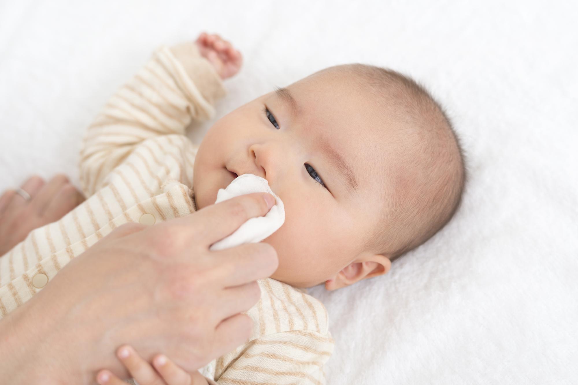 赤ちゃんの鼻水の取り方