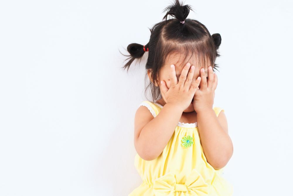 ストレスをかかえた子供