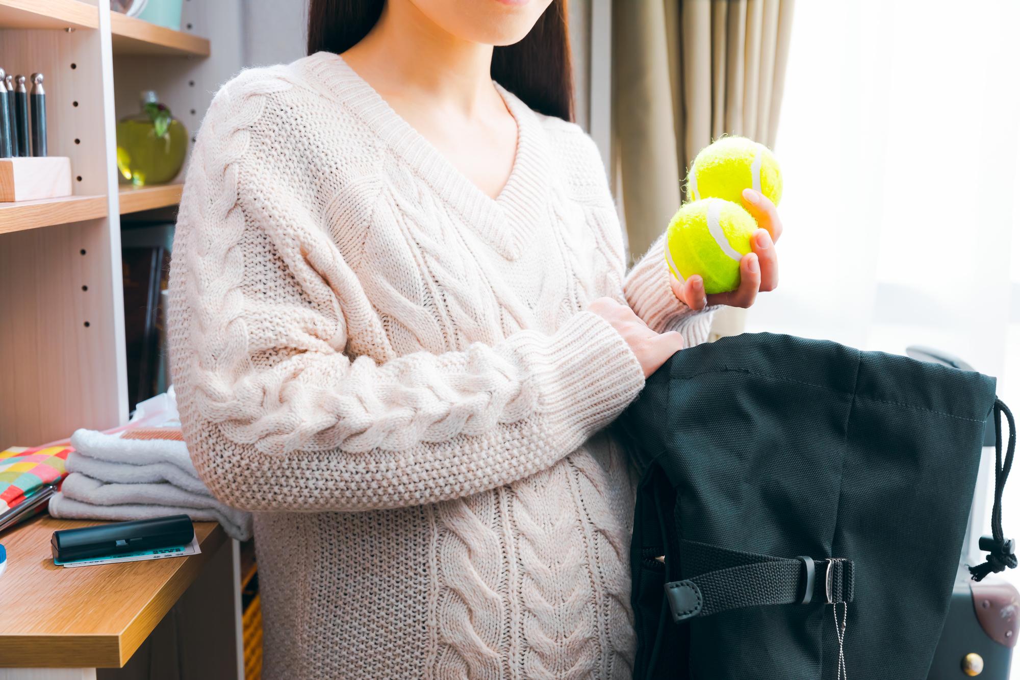 出産の荷物