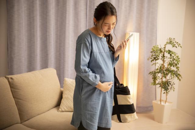 妊娠後期 腹痛2