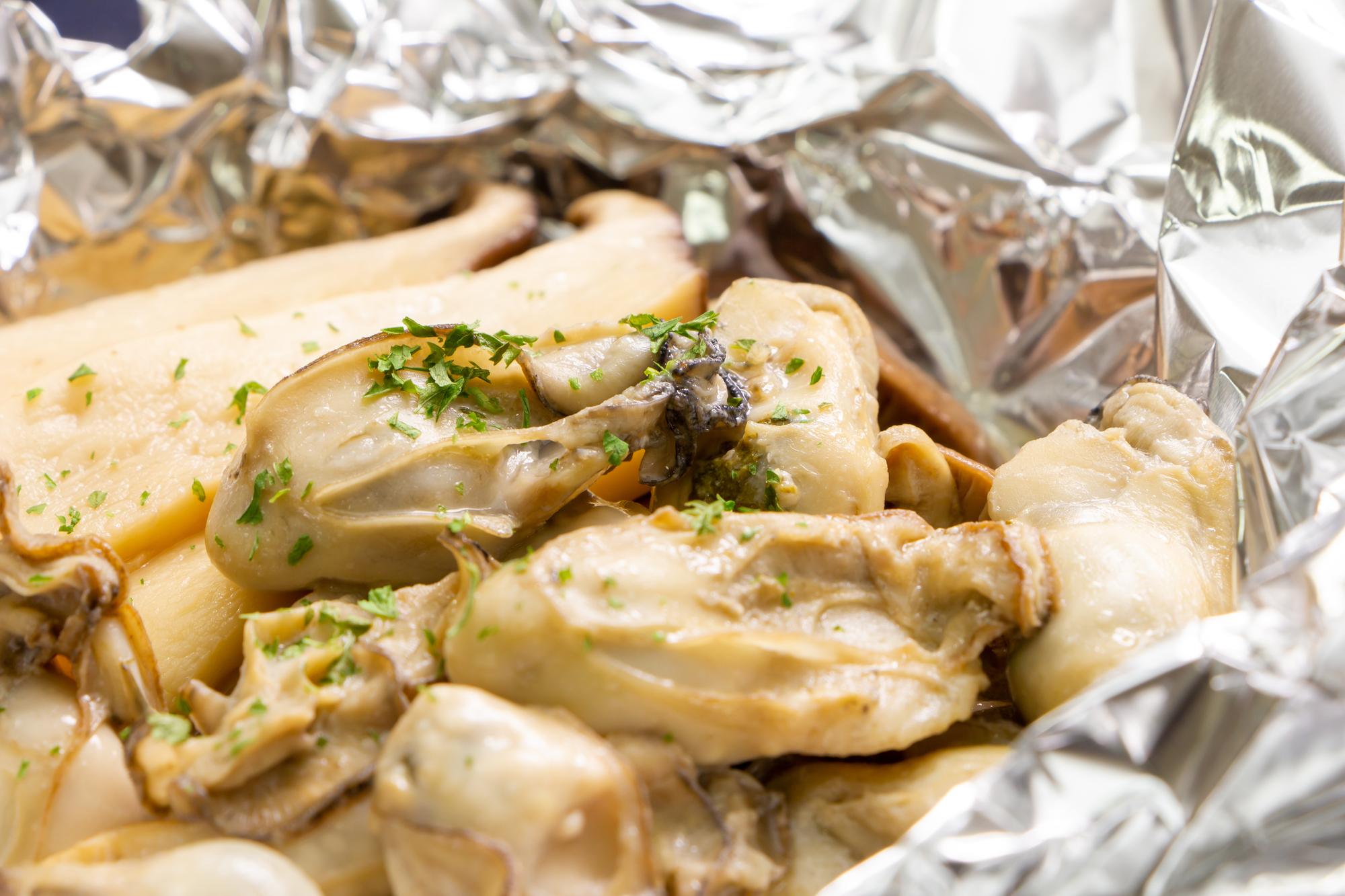 妊娠中は、しっかり加熱した牡蠣をたべよう