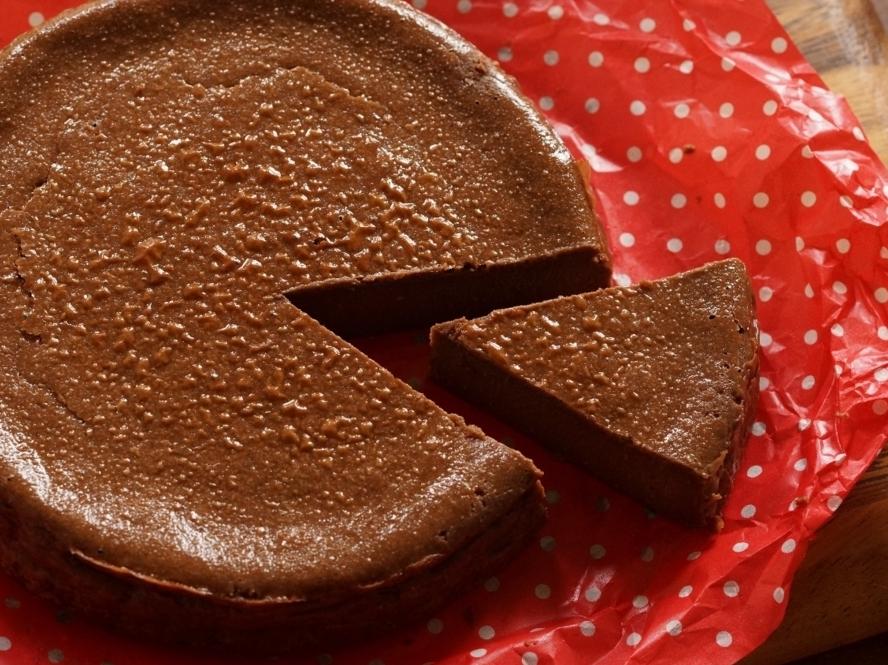 チョコベイクドチーズケーキ