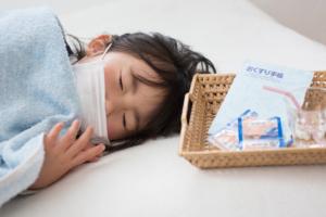 楽にするには?子どもが鼻づまりで寝付けない。寝かせ方・ツボで鼻水対策