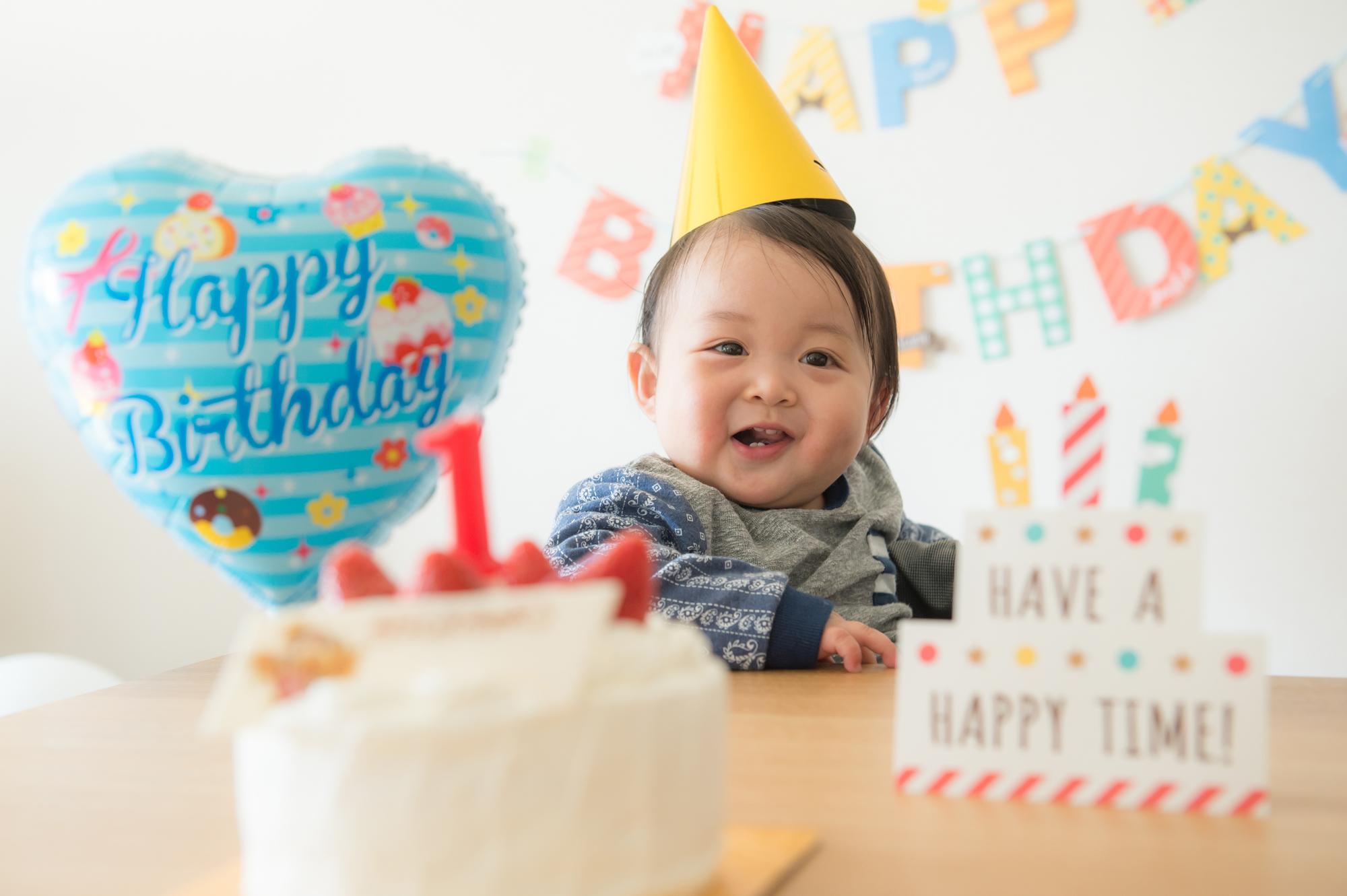 1歳の誕生日のお祝いのしかた