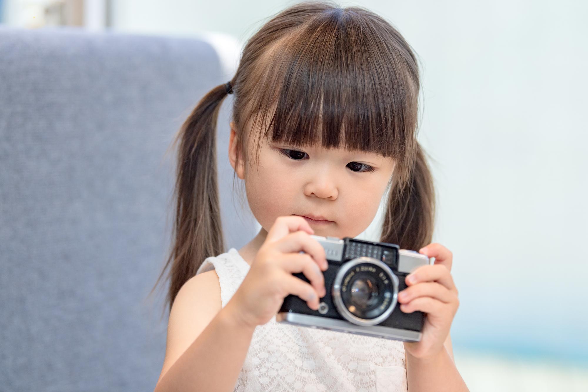 子どものカメラ