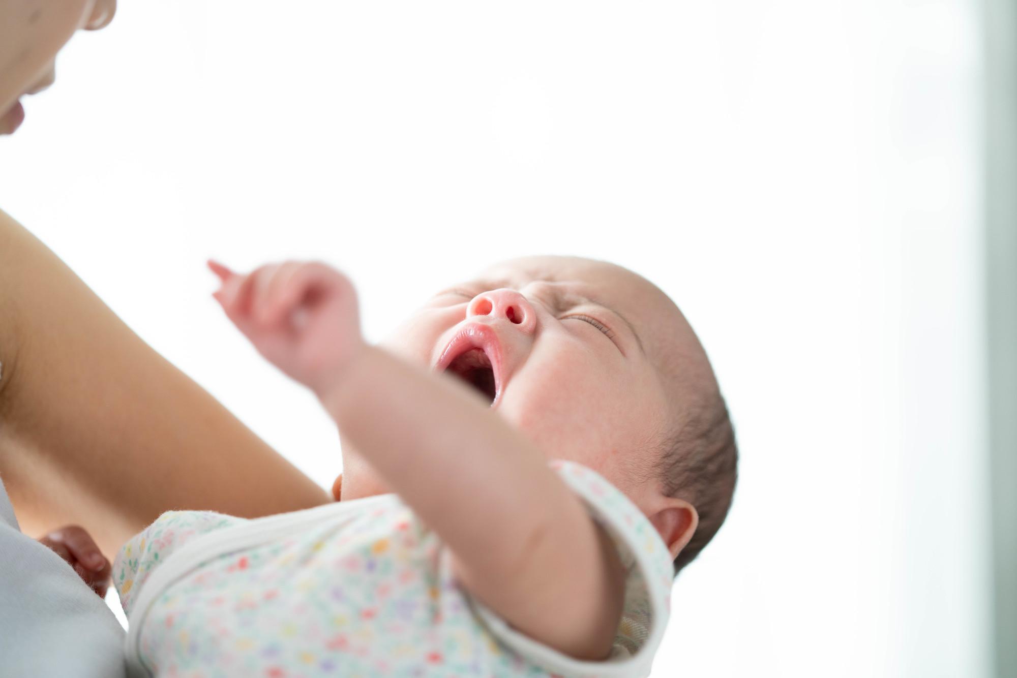 口 呼吸 新生児