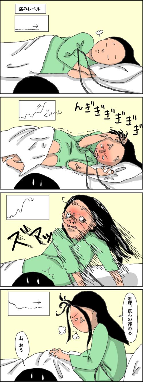 陣痛の痛み