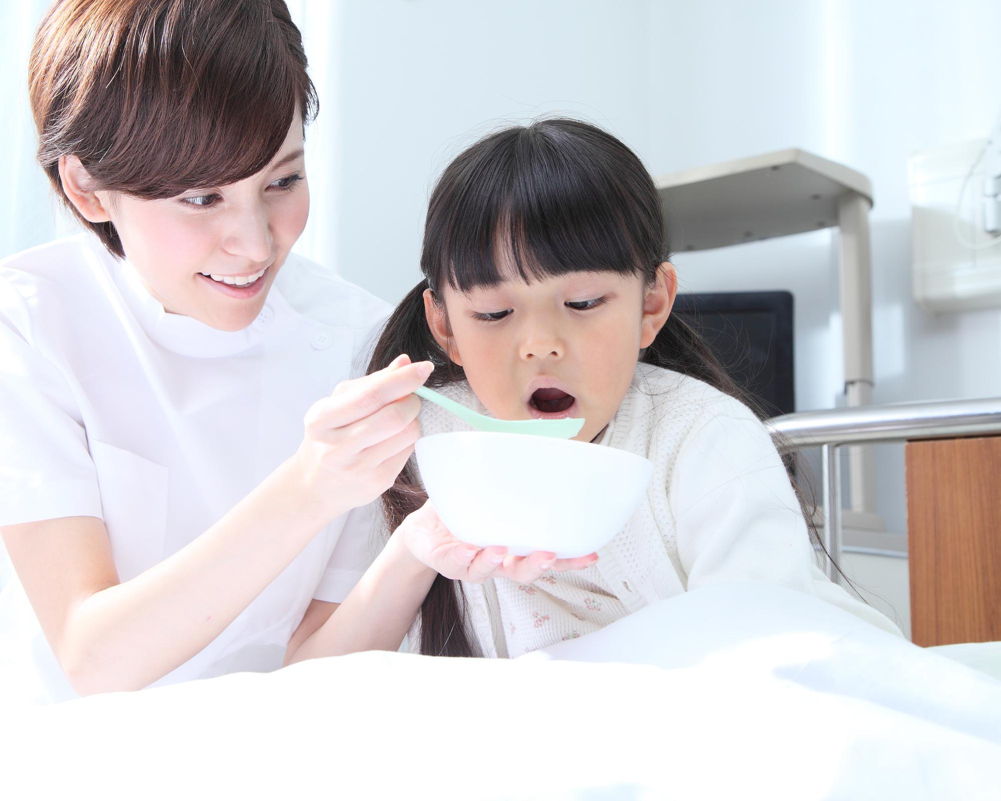 下痢中の子どもの食事