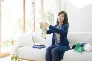子ども服の整理の仕方のコツ。サイズアウトした服の収納&100均グッズ