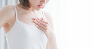 妊娠初期症状?「胸がズキズキ・チクチク痛い」原因。痛みを和らげる方法