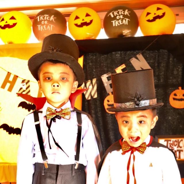 kenmamaさんのお子さんのハロウィン仮装