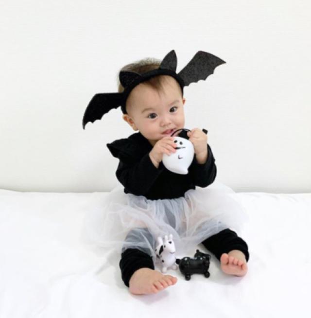 otomamaさんのお子さんのハロウィン仮装