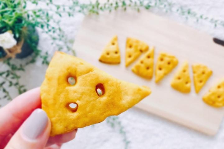 ポリ袋かぼちゃクッキー