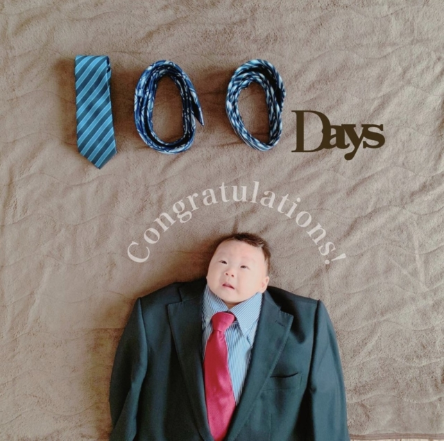 mngs2101さんの100日寝相アート
