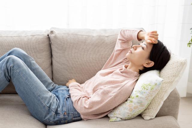 妊娠初期微熱