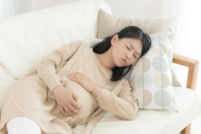 妊婦 眠る