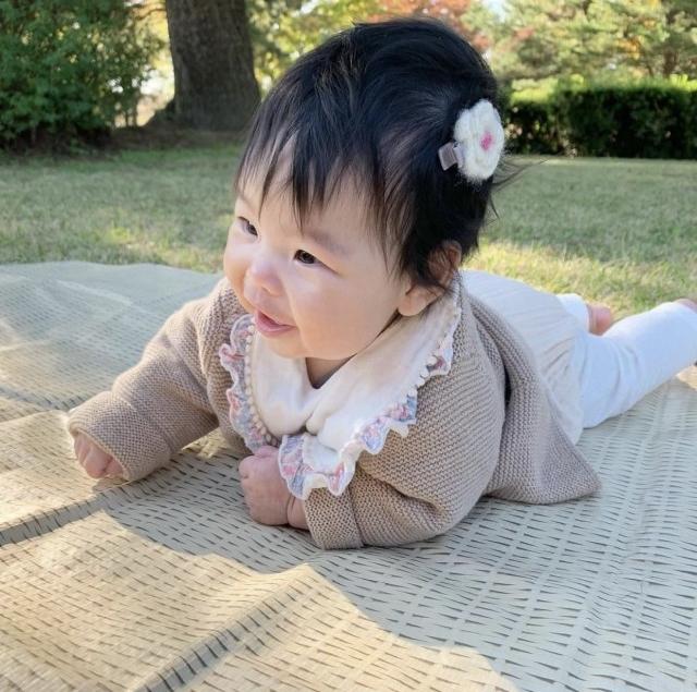 ふうかさんの赤ちゃんヘアアレンジ