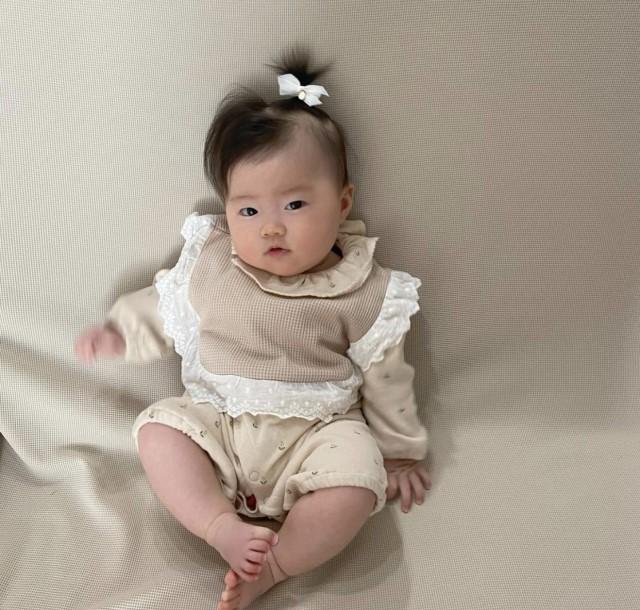 karen_mameno9さんの赤ちゃんヘアアレンジ