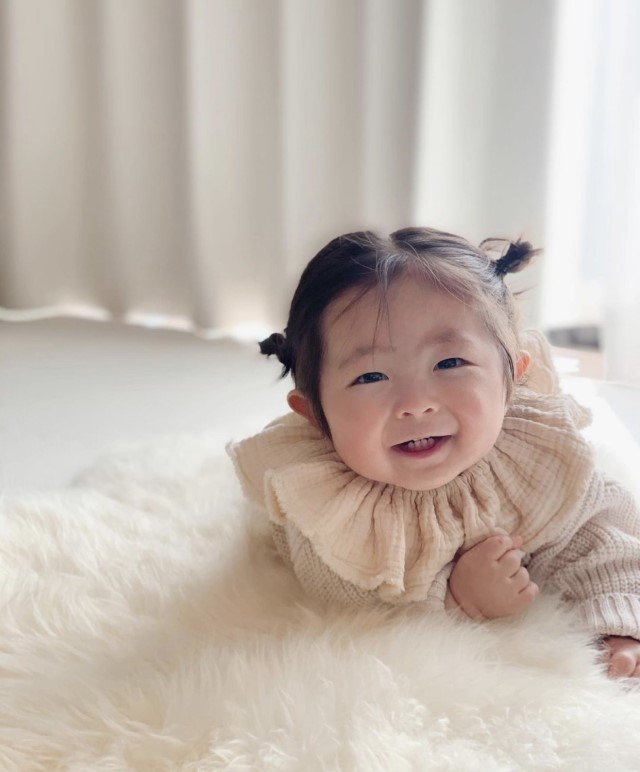 ma.shiro__0220さんの赤ちゃんヘアアレンジ