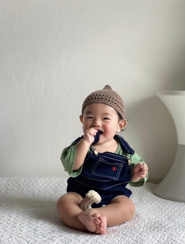 帽子をかぶった赤ちゃん(yamacho1231さん)