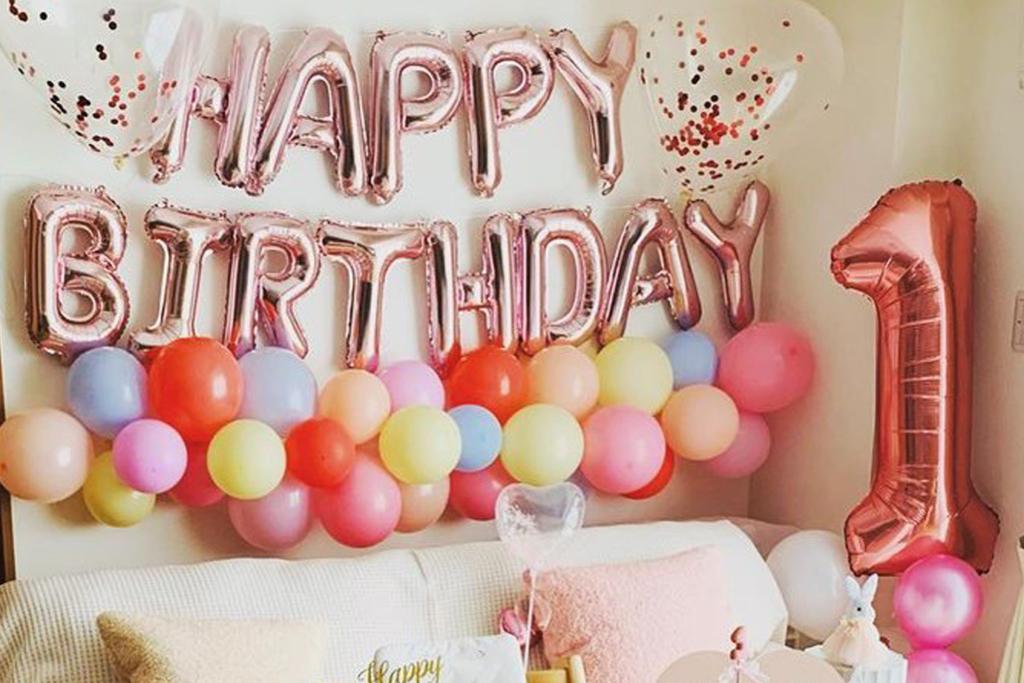 【1歳誕生日】飾り付けはダイソー&セリアで♡100均グッズが超カワイイ!
