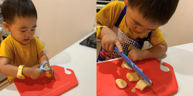 maki_soryuさんの台所育児