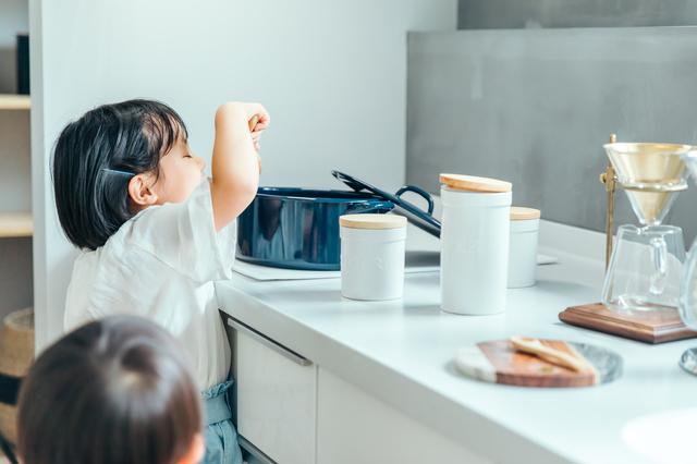 キッチン 子供
