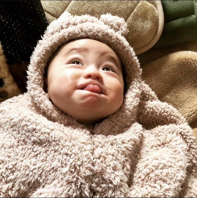 ai_idealさんの赤ちゃん変顔