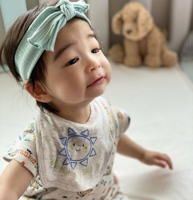 hideri.iさんの赤ちゃん変顔
