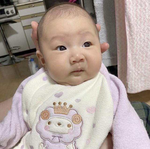 yunemarusanさんの赤ちゃん変顔