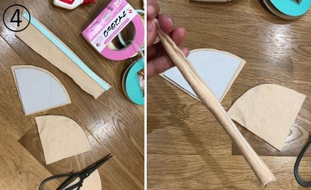 ohisamapanのピザおもちゃの作り方④