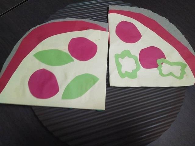 rii.artlifeさんのピザ屋さんごっこ