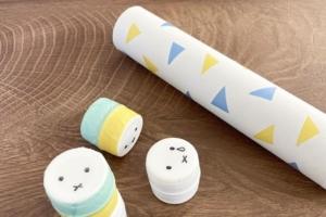 ラップの芯が「知育玩具」に大変身♪赤ちゃんから遊べる手作りおもちゃ案
