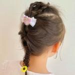 【くるりんぱアイデア集】子どもの簡単&可愛いヘアアレンジ♪忙しい朝にも