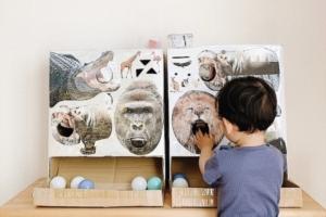 【簡単】ダンボールで作れるゲーム「子どもに超ウケる!」工作アイデア集