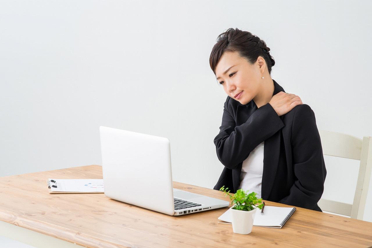 【頚肩腕症候群】どんな条件がそろうと危ないの?予防するには…