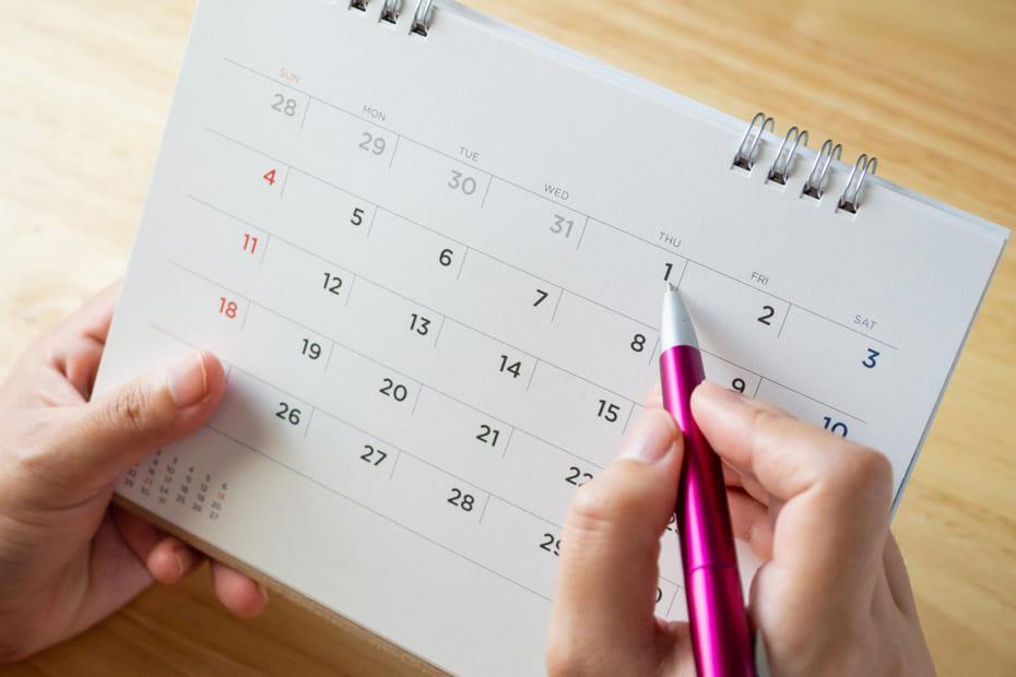インフルエンザ カレンダー