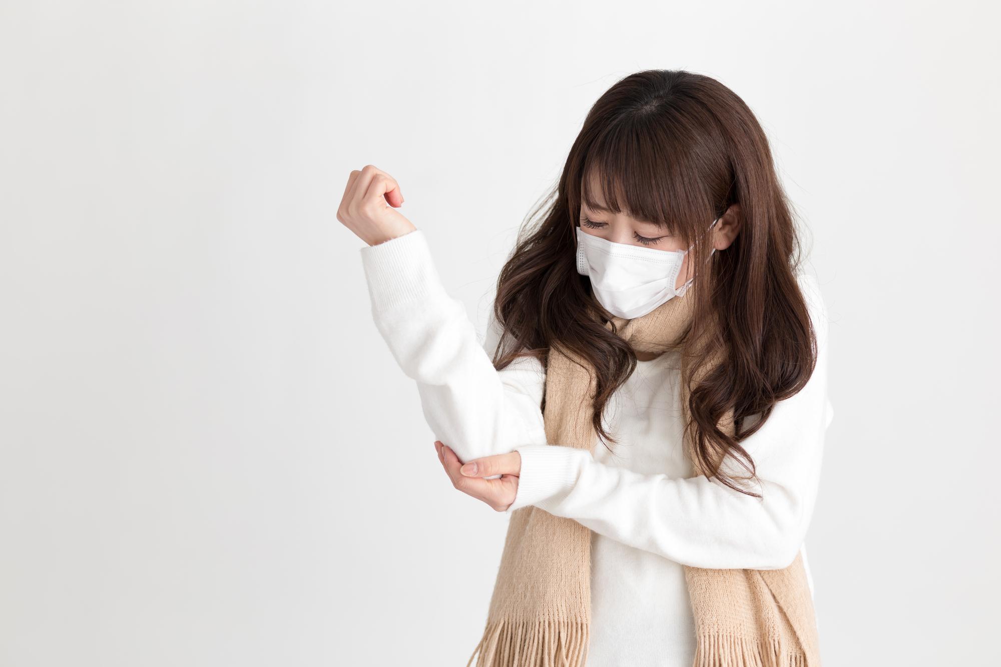 悪寒 の が に 熱 ない