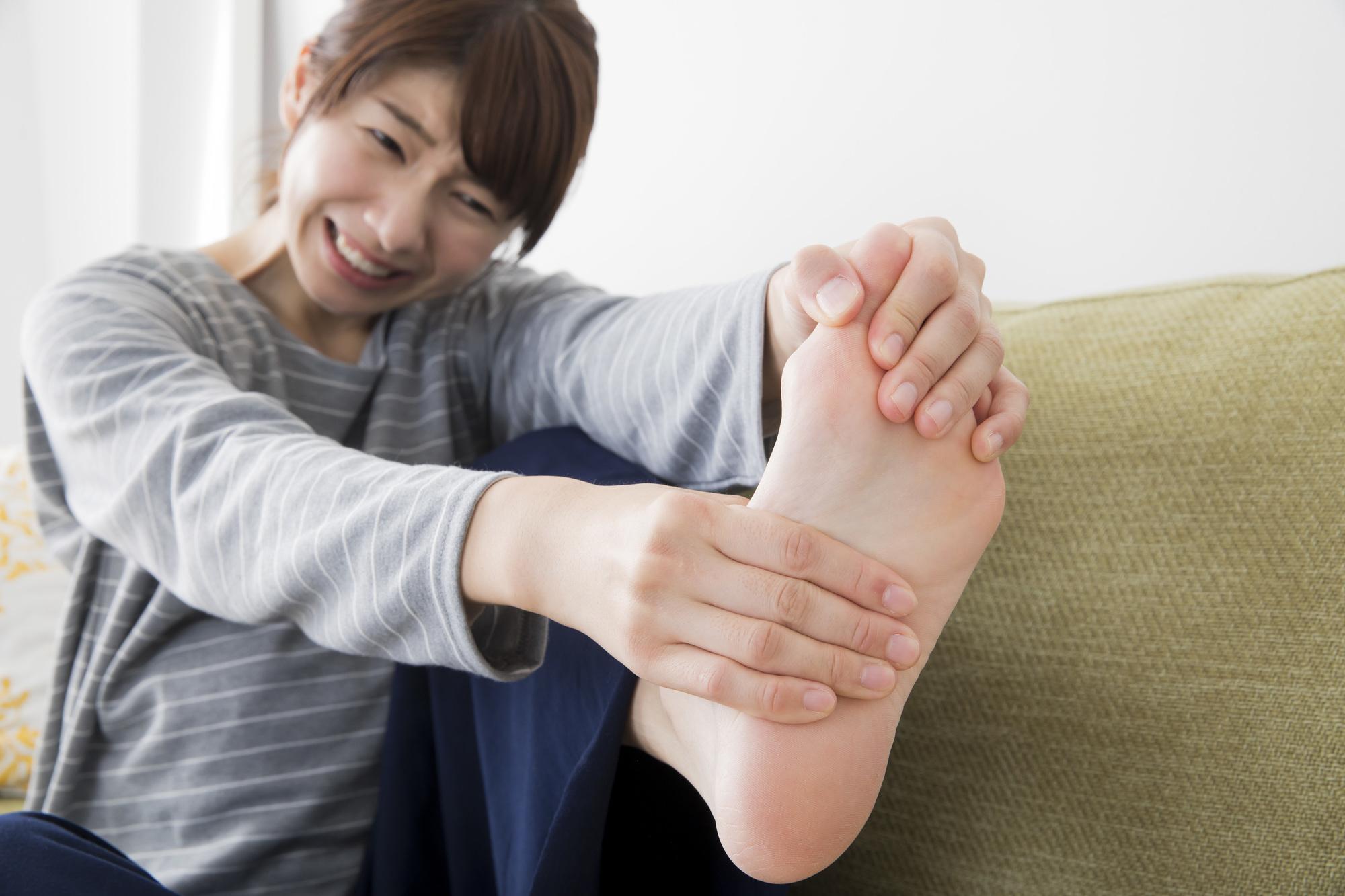 足がつる 治し方