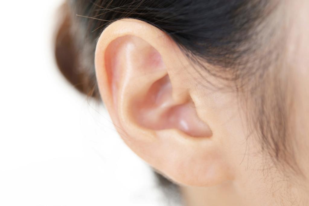 痛い と しこり 耳たぶ 押す