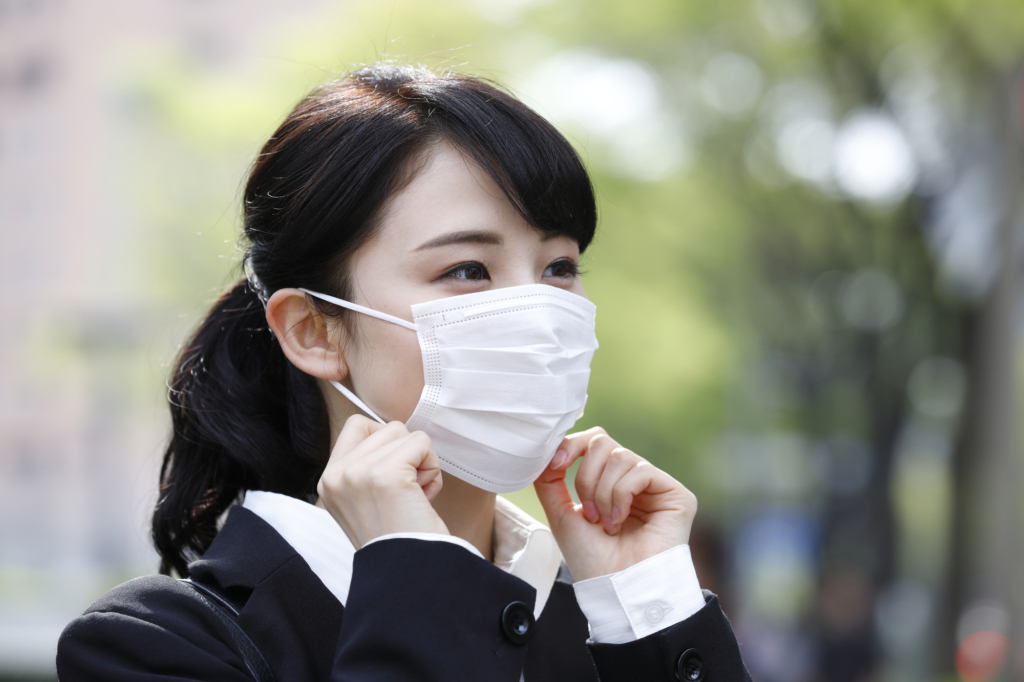 新型コロナウイルス マスクは効果ある?手洗いの徹底とアルコール消毒を!