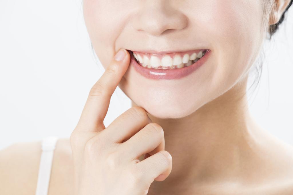 歯茎 に 白い でき もの